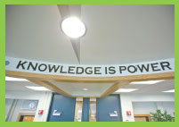 The Point - Knowledge is Power banner