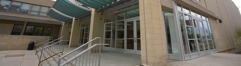 Niles West entrance