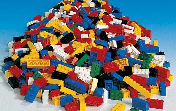 stock photo of LEGOs