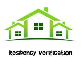 Residency Verification - Summer 2021