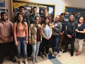 The Busiiness Strategies and Entrepreneurship Class at Niles North 2018