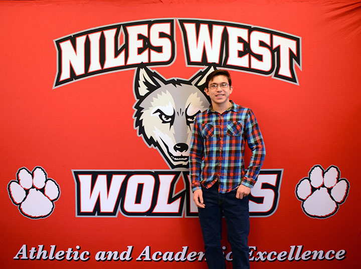 Dustyn Beutelspacher of the debate team was awarded a college scholarship