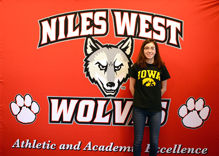 Ellie Bennett won a debate college scholarship