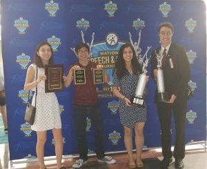 ​N​ILES WEST DEBATERS SHINE AT NATIONALS​​
