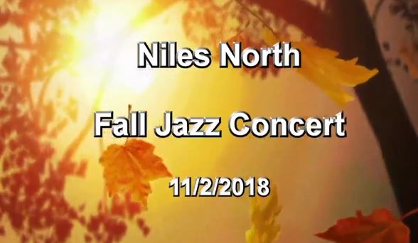 Graphic for Niles North Fall Jazz Concert on 11/2/18