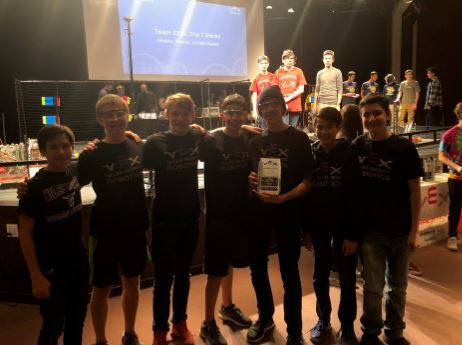 Niles North Robotics 333A won the Wildstang VEX Robotics Competition