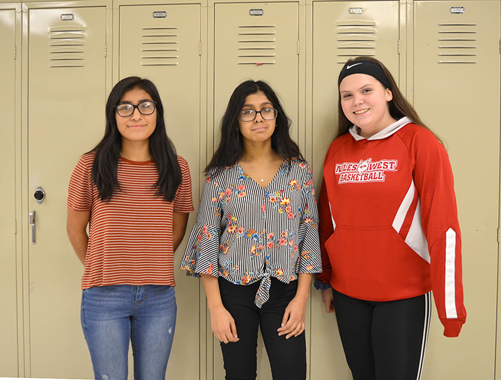Students Who Wrote the winning papers in Ms Swanson's English Classes.