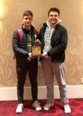 Liam Lorenz and Alan Ivackovic are currently ranked #9 in the nation as determined by a National Speech and Debate poll