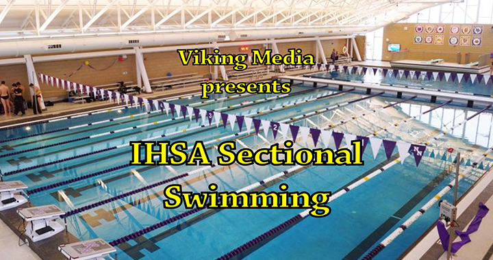IHSA Sectional Swimming and Diving at Niles North on 2-23-19
