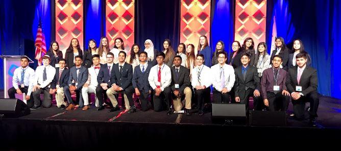 North DECA students at IL CDC 2019