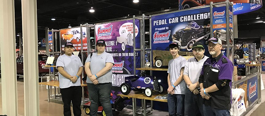 Niles North Team winners of Pedal Car Challenge