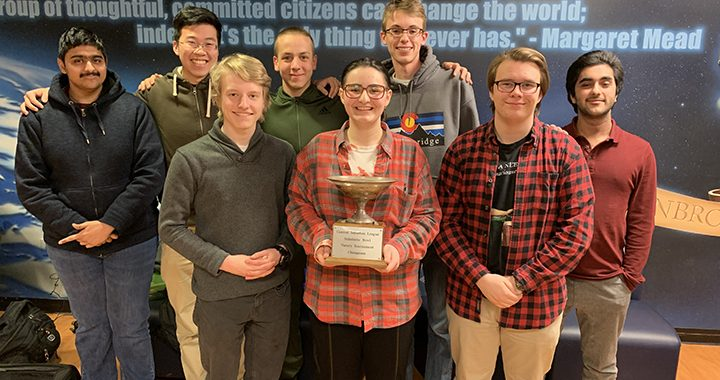 Niles West 2019 Scholastic Bowl Conference Champions