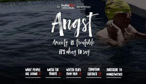 Film: Angst, Raising Awareness Around Anxiety on May 8
