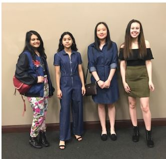Fashion students at FCCLA State 2019