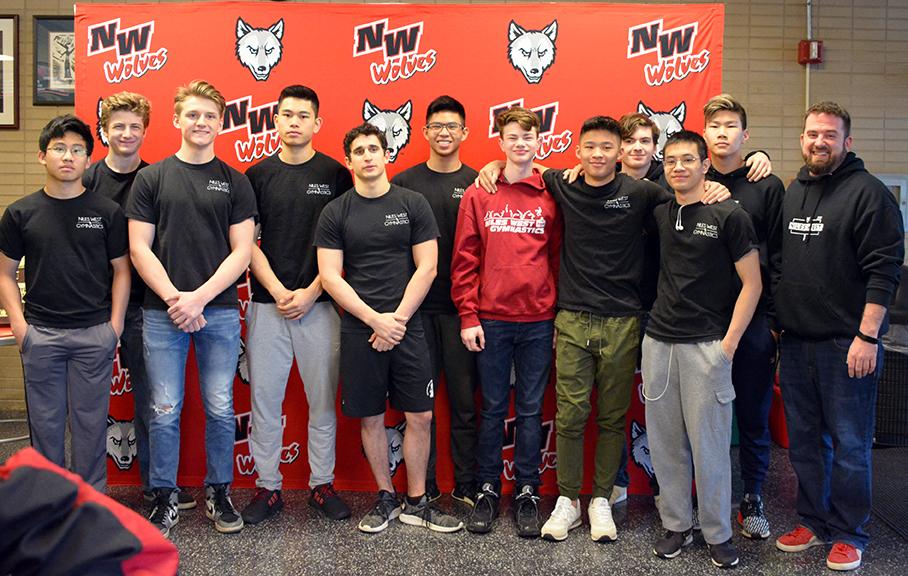 Niles West Boys Gymnastics Team