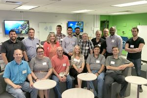 Picture of Niles North Incubators partners mtg