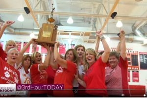 Niles West State Basketball Team on 3rdHourToday 9-13-19
