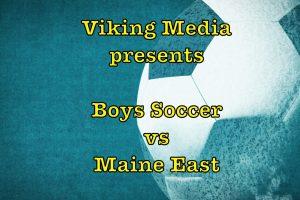 NN Boys Soccer vs Maine EAst