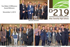 Award Winners at BOE Meeting 11-5-19