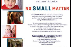 Documentary Screening/Discussion:  No Small Matter