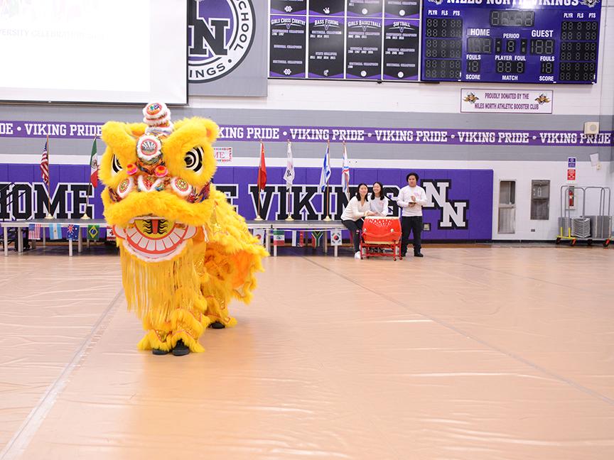Chinese Club at Diversity Celebration