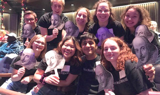 Picture of Niles North Shakespeare Slam Team that won first place