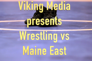 Media broadcast boys wrestling vs Maine East