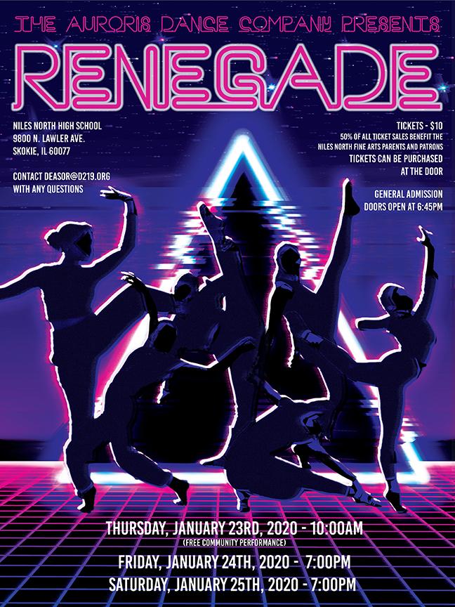 Auroris Dance Co 2020 poster