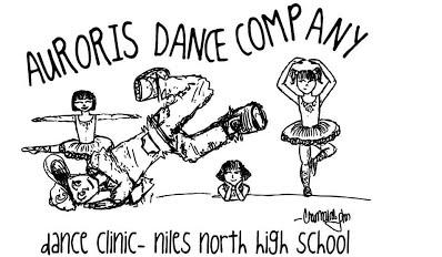 Auroris Dance Company Clinic Cartoon