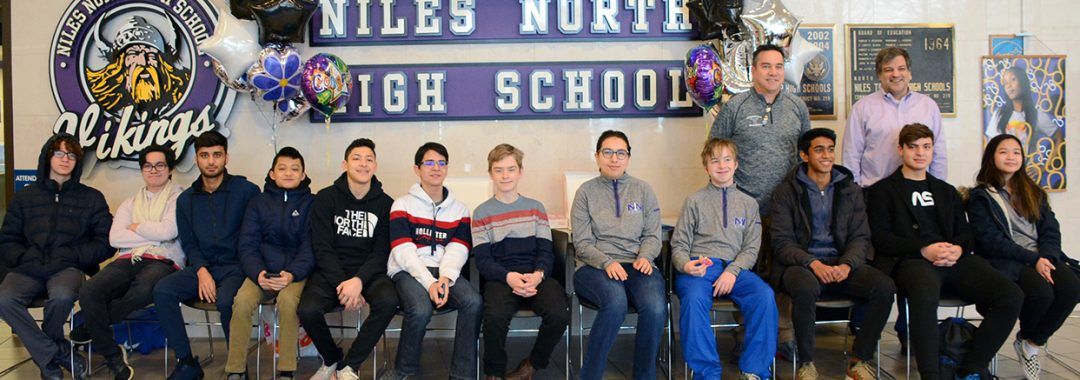 The Niles North Chess Team will Compete at State 2020