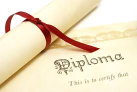 Stock photo - diploma