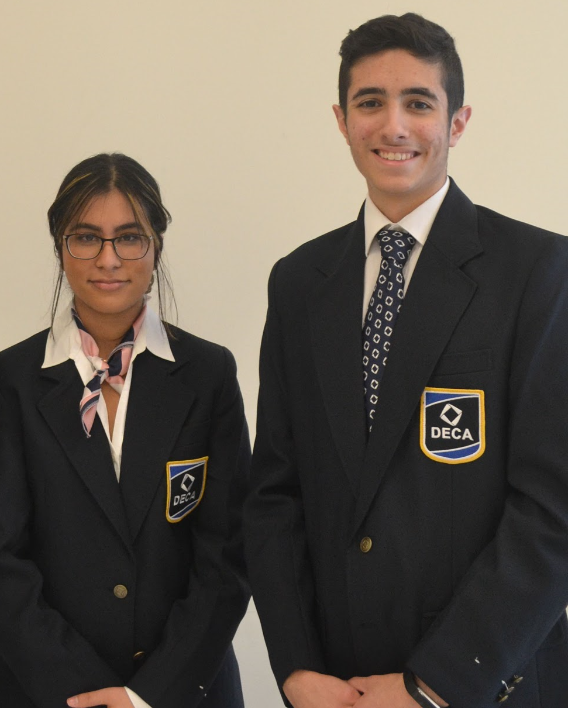 DECA Students who are National Emerging Leaders