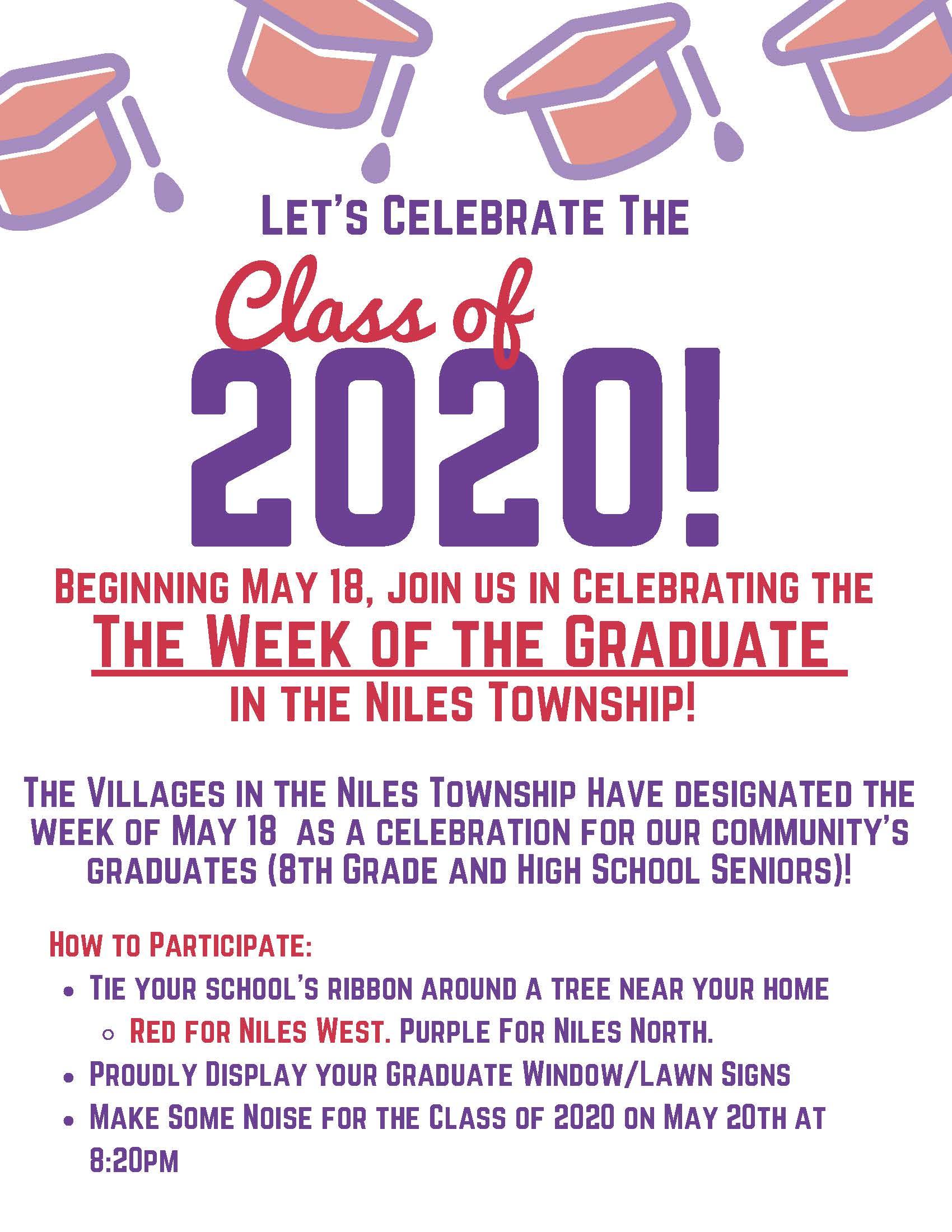 Week of the Graduate Flyer