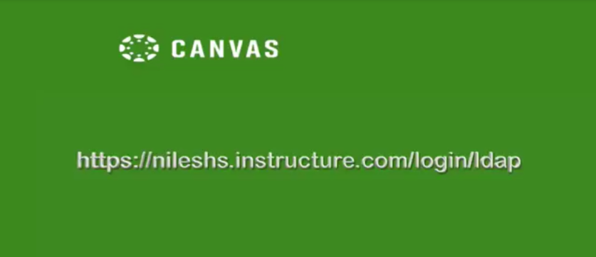 Principal video and message re: Canvas