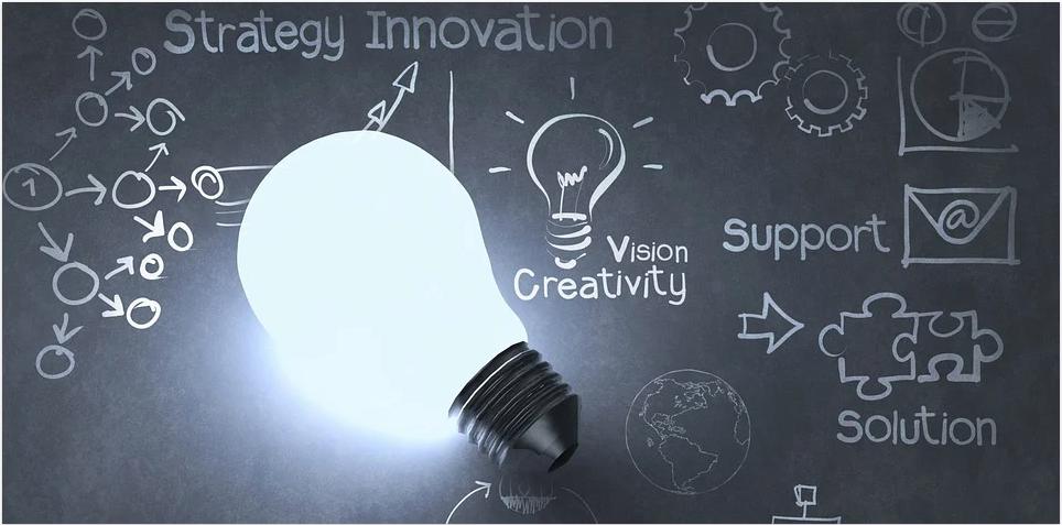 Technology lightbulb