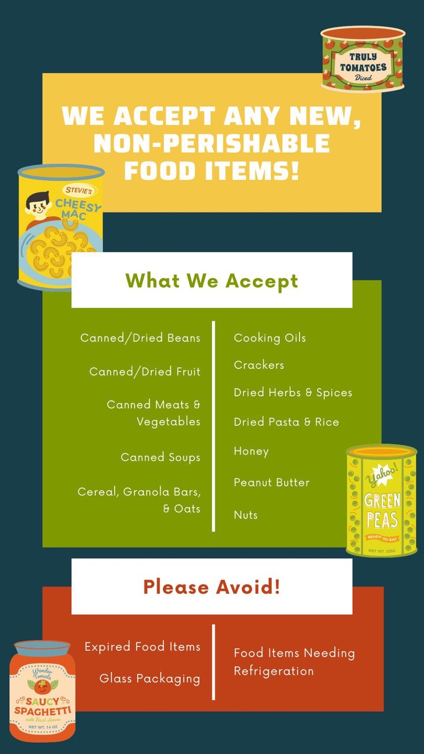 West DECA Food Drive