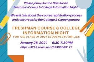 Freshman Course Night
