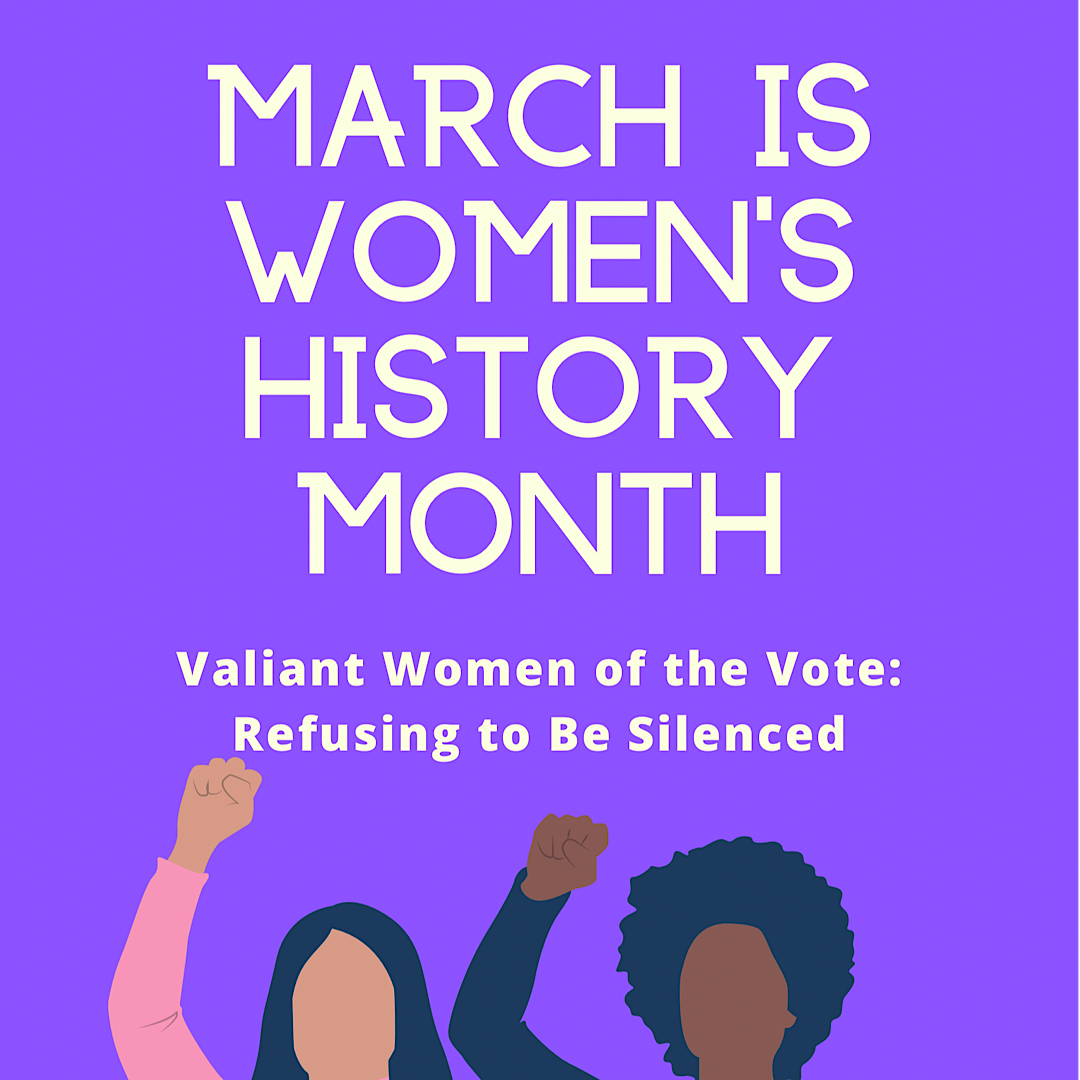 Womens History Month Graphic