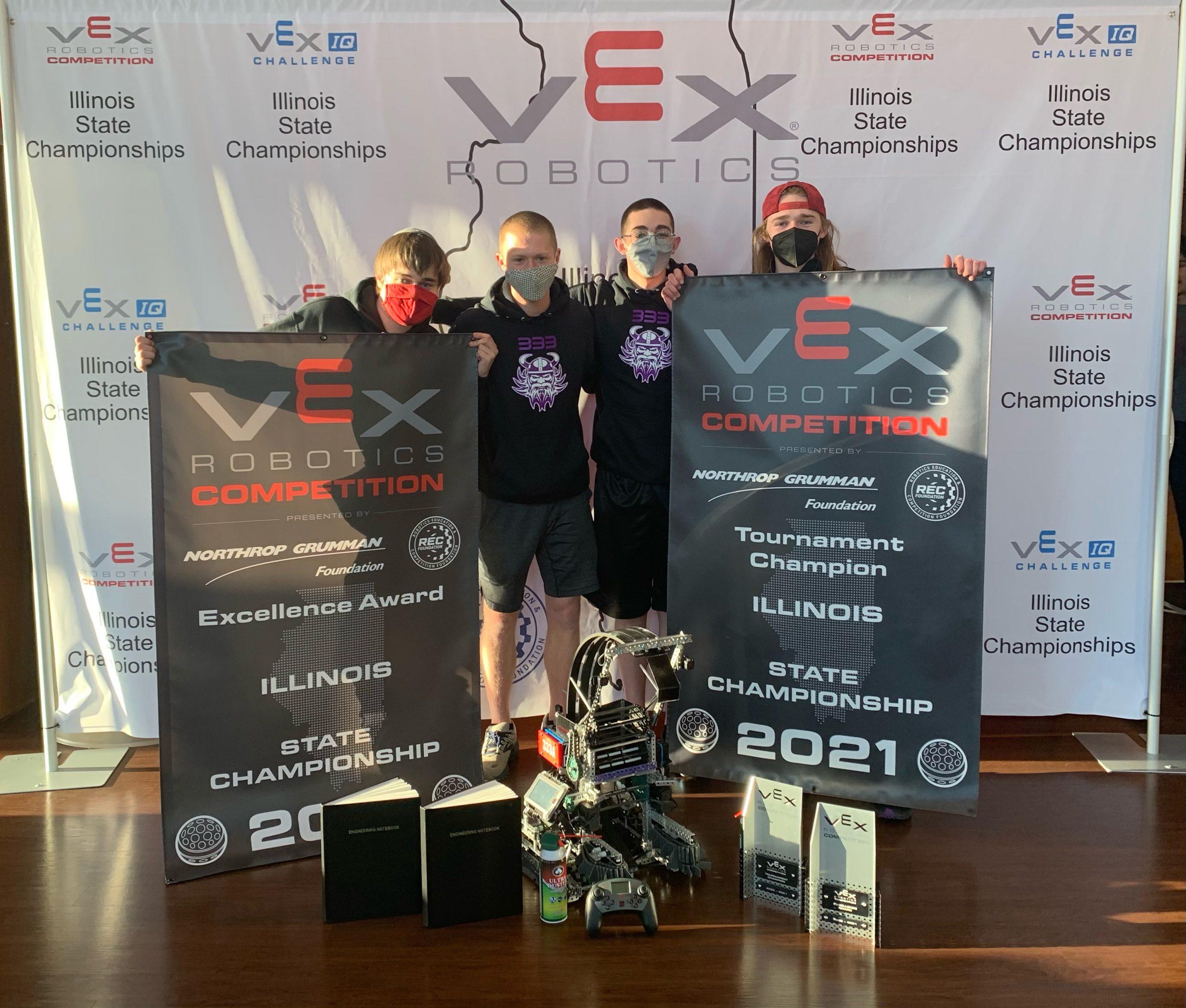 Winning North Robotics Team