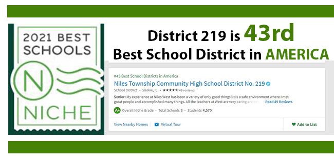 Niche - D219 is 43rd School District in US