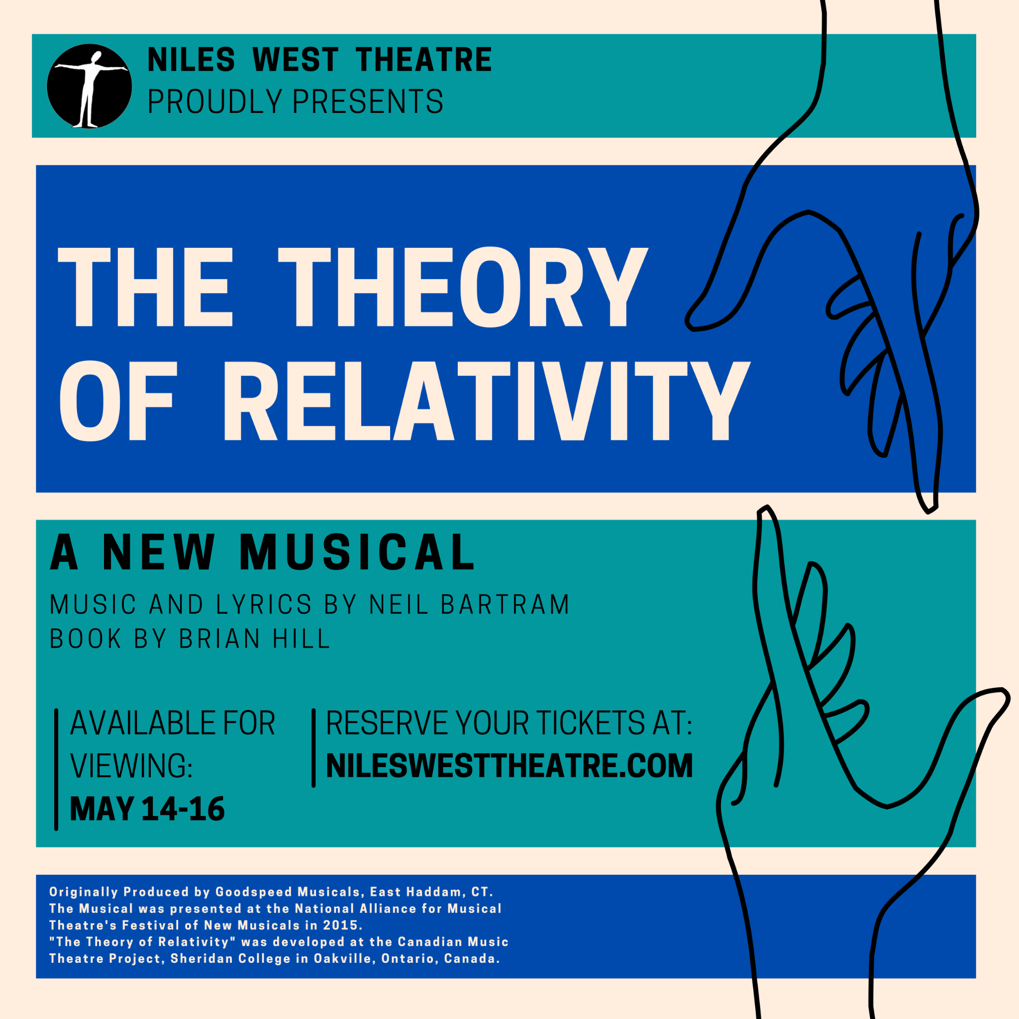 The Theory of Relativity Promo Flyer