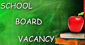 D219 Board Vacancy: Applications Due Friday, August 13, 2021