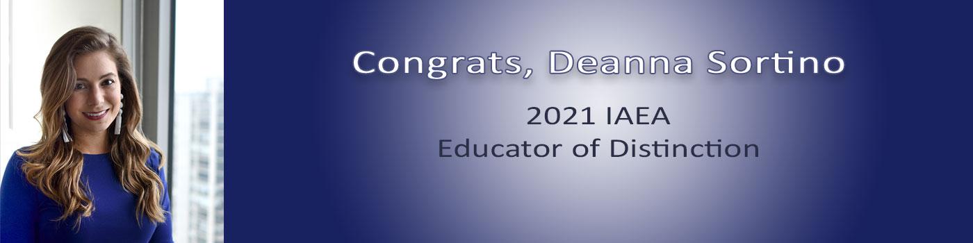 Deanna Sortino is a 2021 IAEA Educator of Distinction