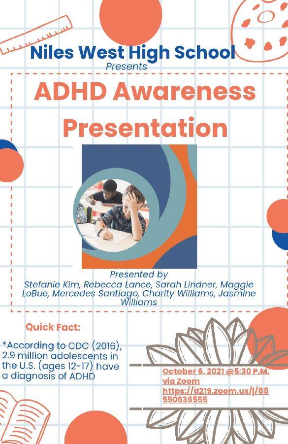 ADHD Awareness Presentation flyer
