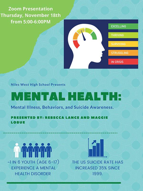 Mental Health Presentation Nov 18, 5pm